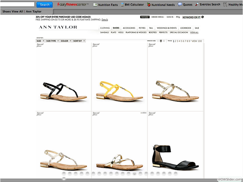 Ann Taylor -  - Ecommerce Assets