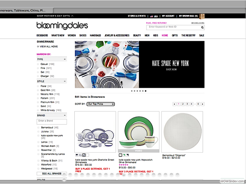Bloomingdales - Ecommerce Assets